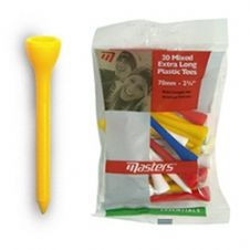 100 X Masters Extra Long Plastic Golf Tees